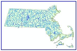 Major Ponds and Streams Sample