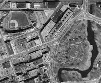 Sample of Black and White Digital Orthophoto Image