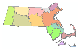Map of Regional Planning Agencies