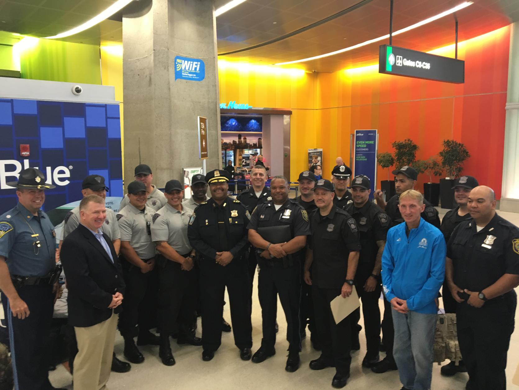 First rotation of law enforcement officers head to Puerto Rico.