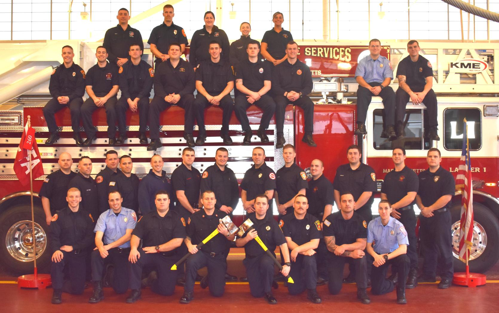 Career Recruit Firefighter Class #260