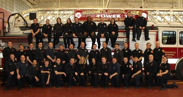 Call Volunteer Recruit Firefighter Class #68 Photo