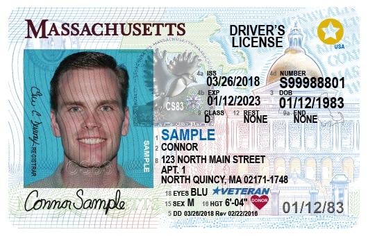 Boston The Machusetts Registry Of Motor Vehicles Is Reminding Public That On March 26 2018 To Get Or Renew Any Driver S License Id Card