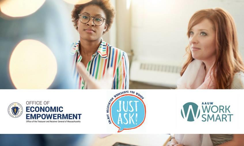 Just Ask! Salary Negotiation Workshops for Women at Mass Bay   Mass gov