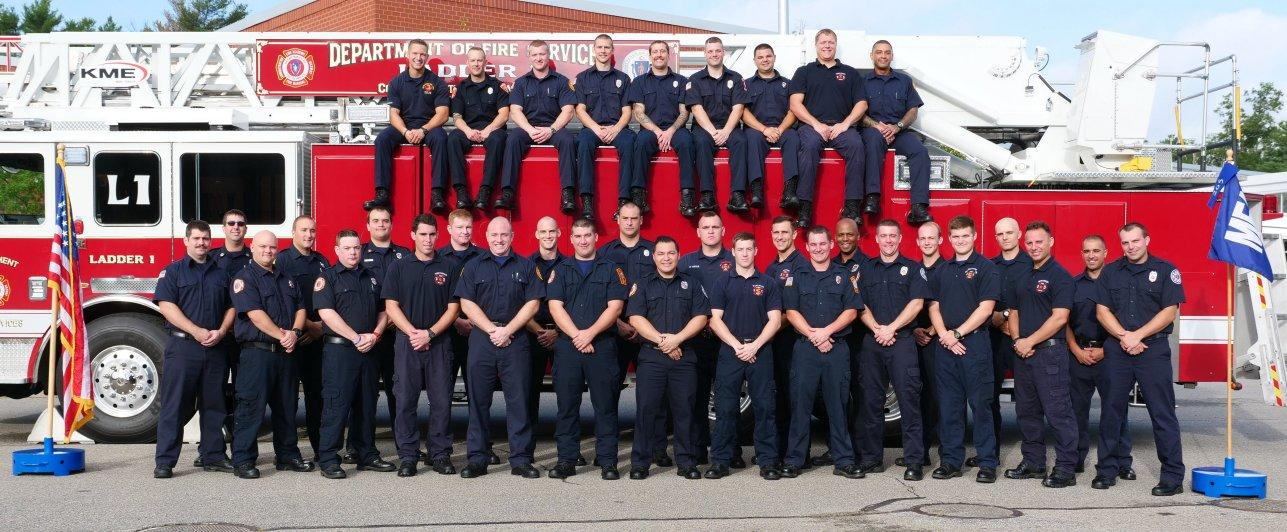 Recruit Class 265 Photo