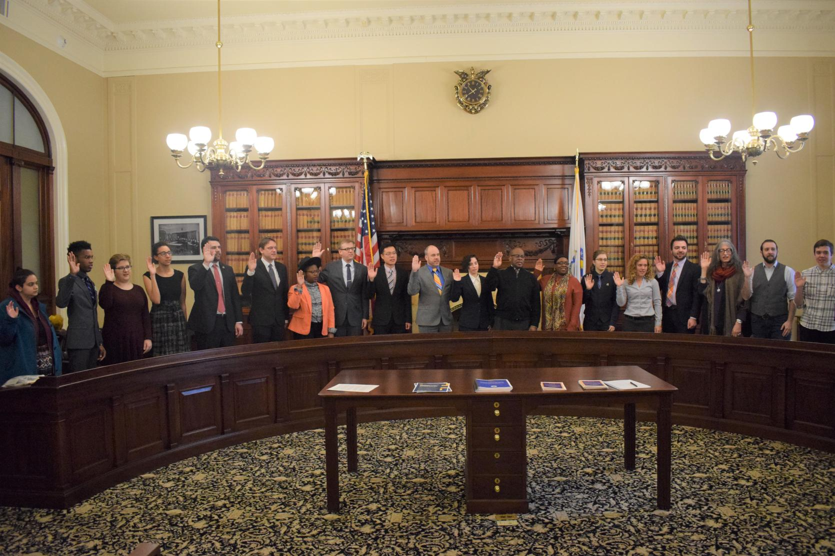 LGBTQ Youth Commission at Massachusetts State House