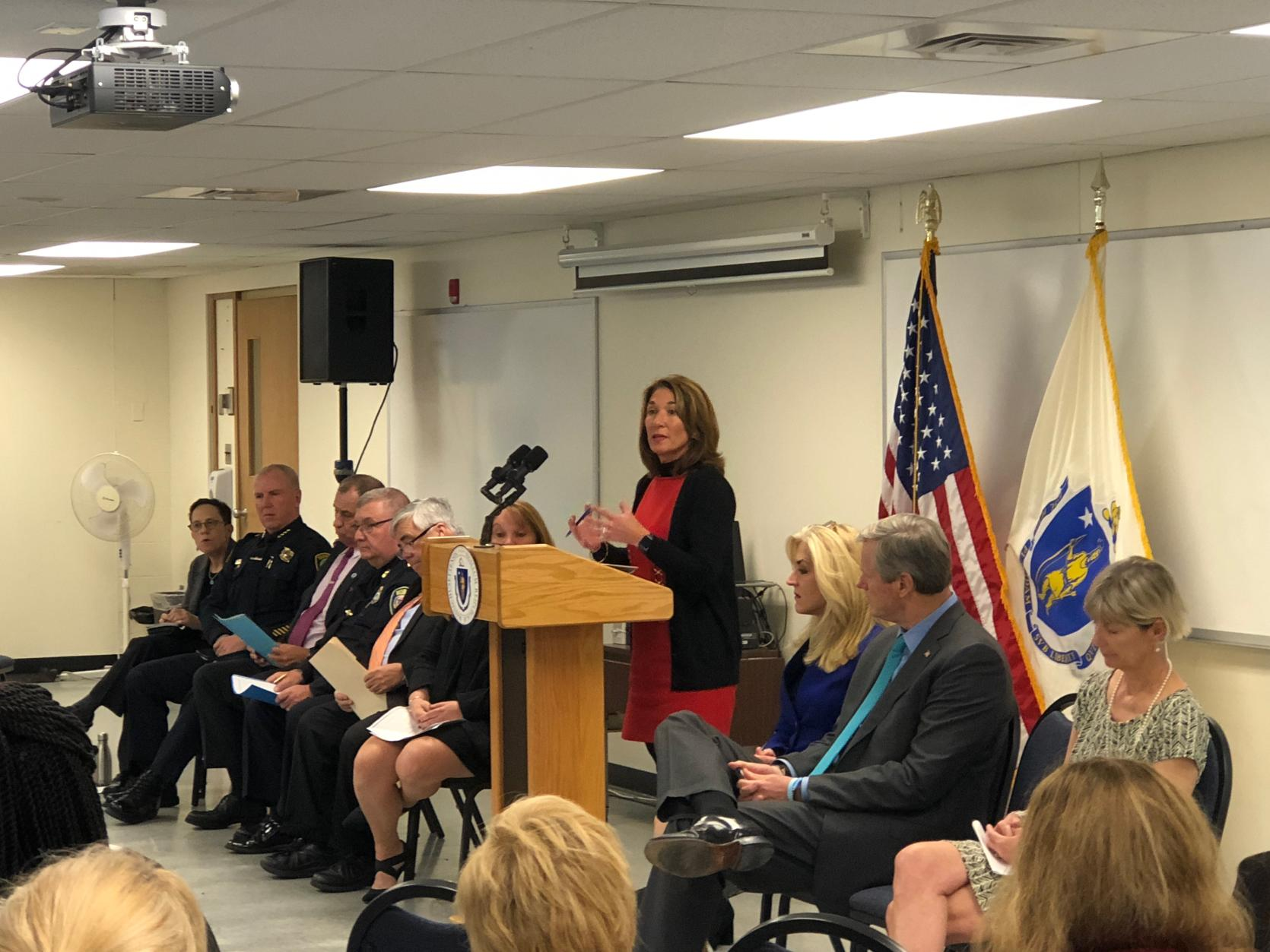 Governor Baker and Lt. Governor Polito announce domestic violence toolkit expansion.