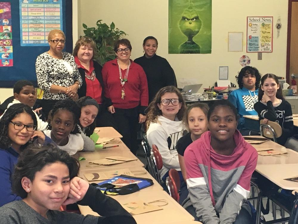 South Boston Probation collaborates with local students to