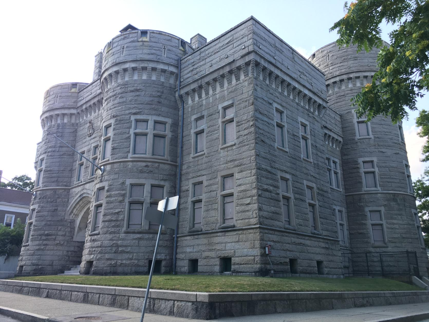 Former New Bedford Armory