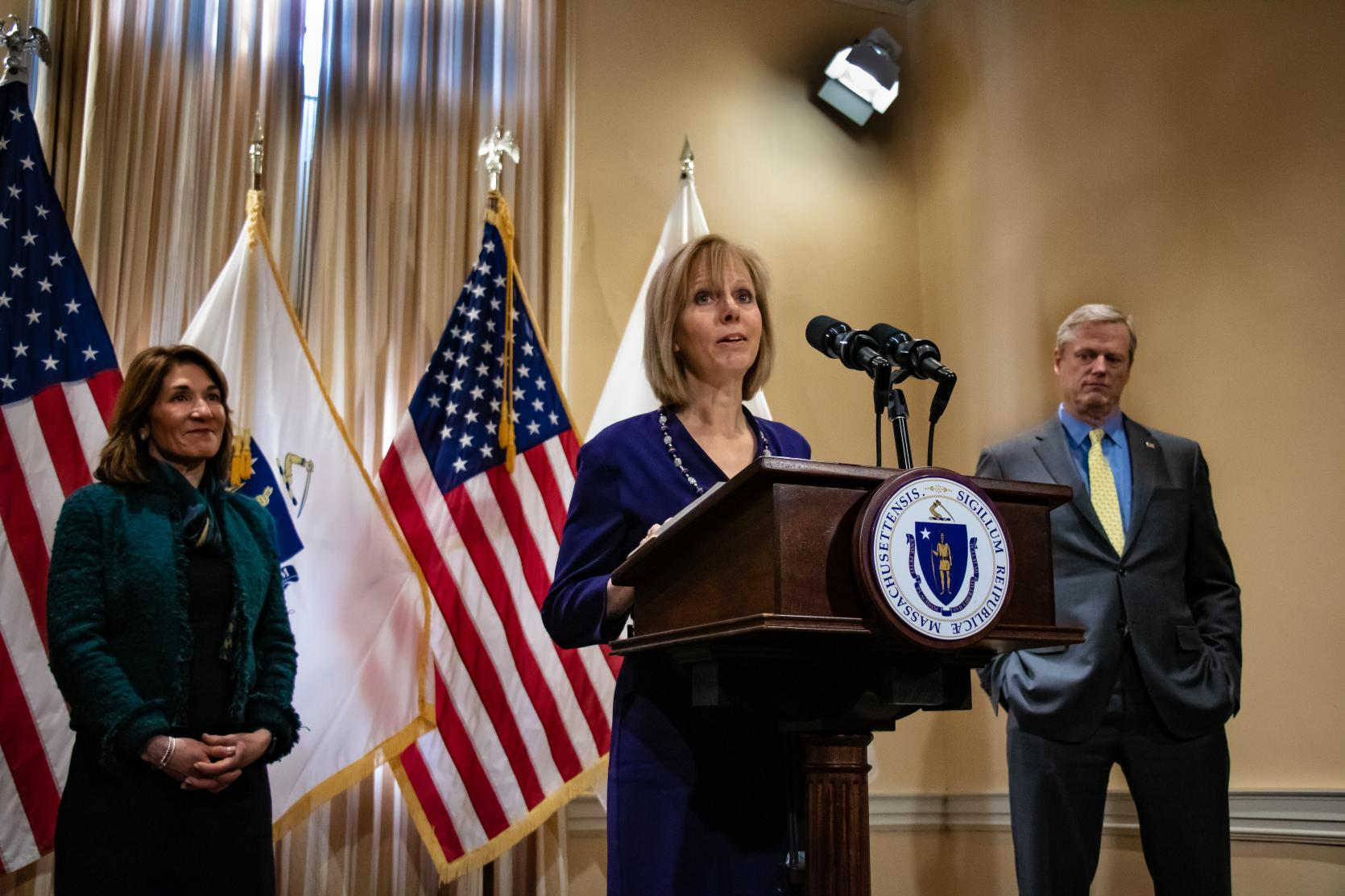 Governor Baker Names Cathy M  Judd-Stein as Chair of the