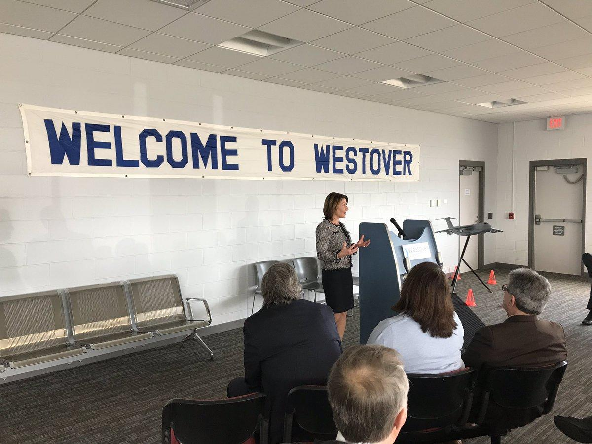 Lieutenant Governor Karyn Polito announces Site Readiness grant awards in Chicopee.