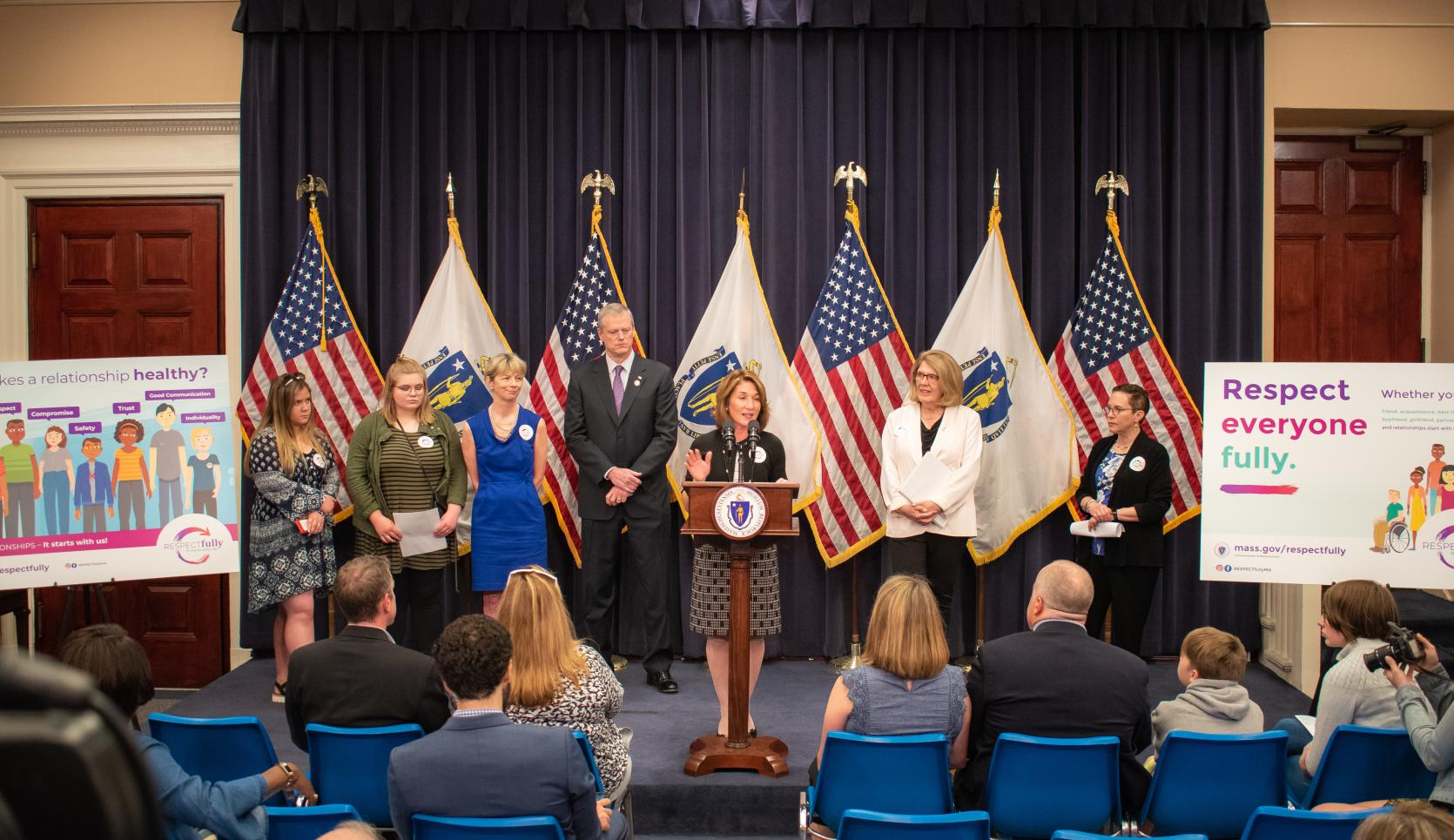 "Baker-Polito Administration Announces Launch of Public Awareness Campaign: ""RESPECTfully"""