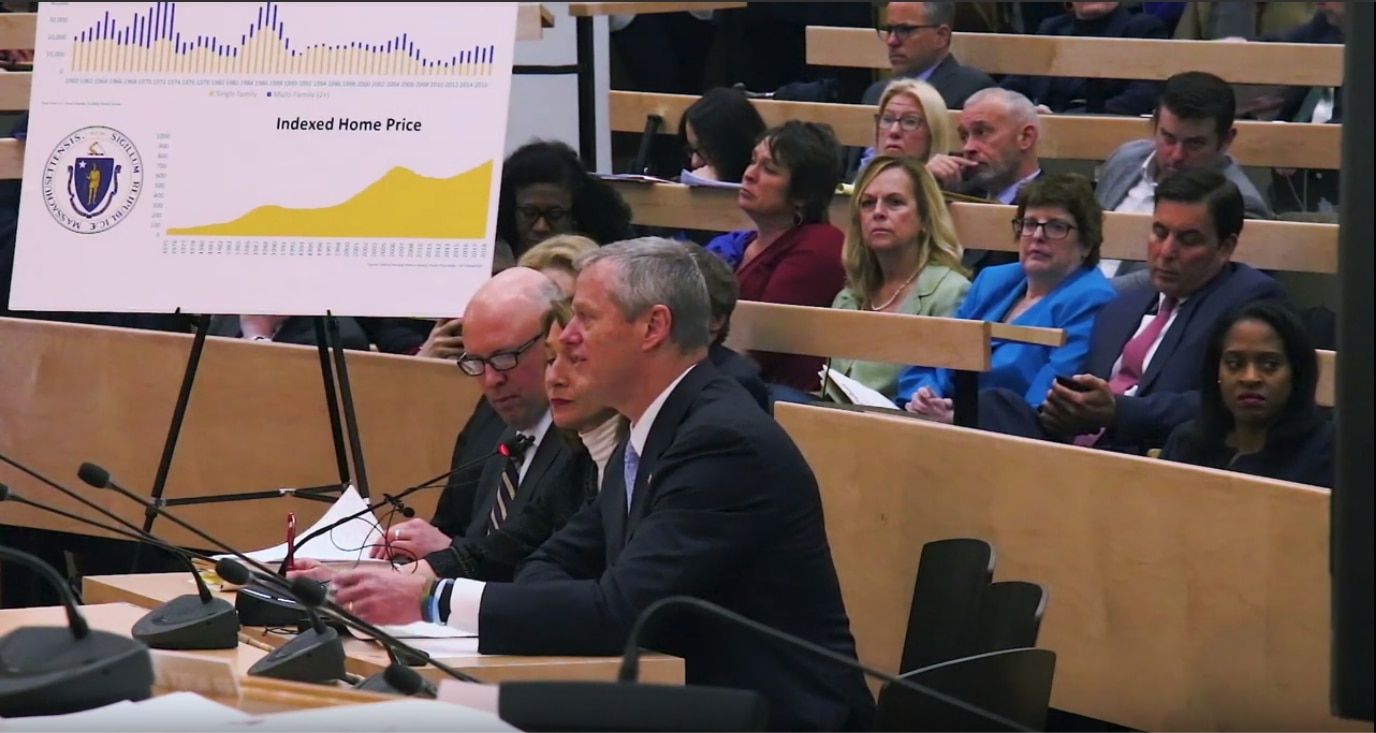 Governor Charlie Baker and Lt. Governor Karyn Polito Testify Before the Massachusetts Joint Committee on Housing