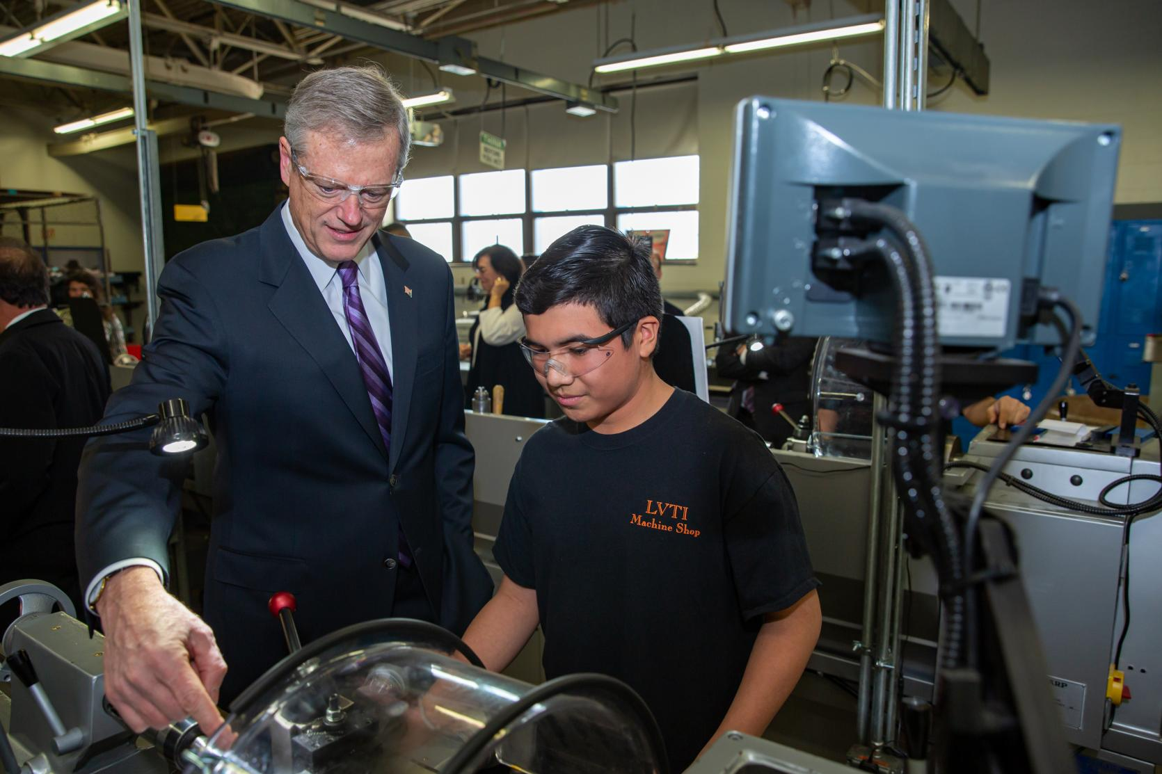 Baker-Polito Administration, GE Foundation Announce $4.5 Million in Workforce Investments on the North Shore
