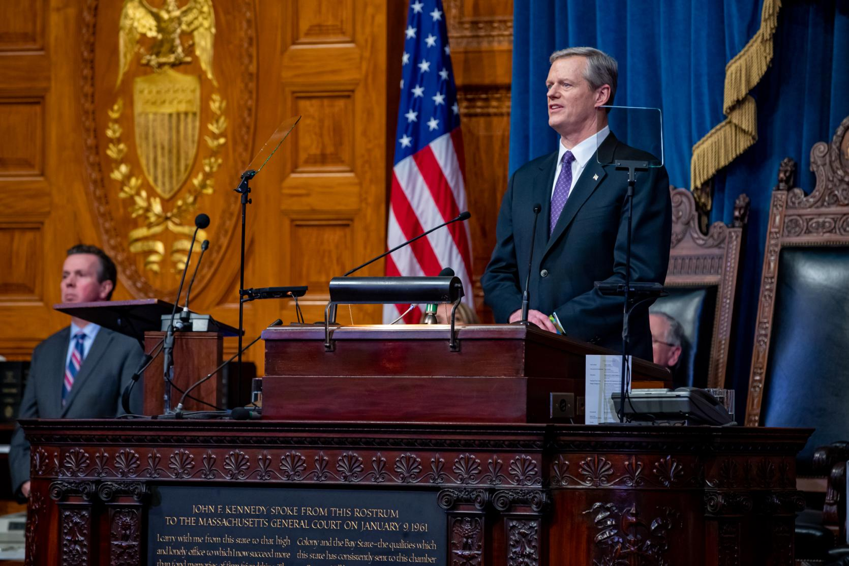 Governor Baker Delivers 2020 State of the Commonwealth Address