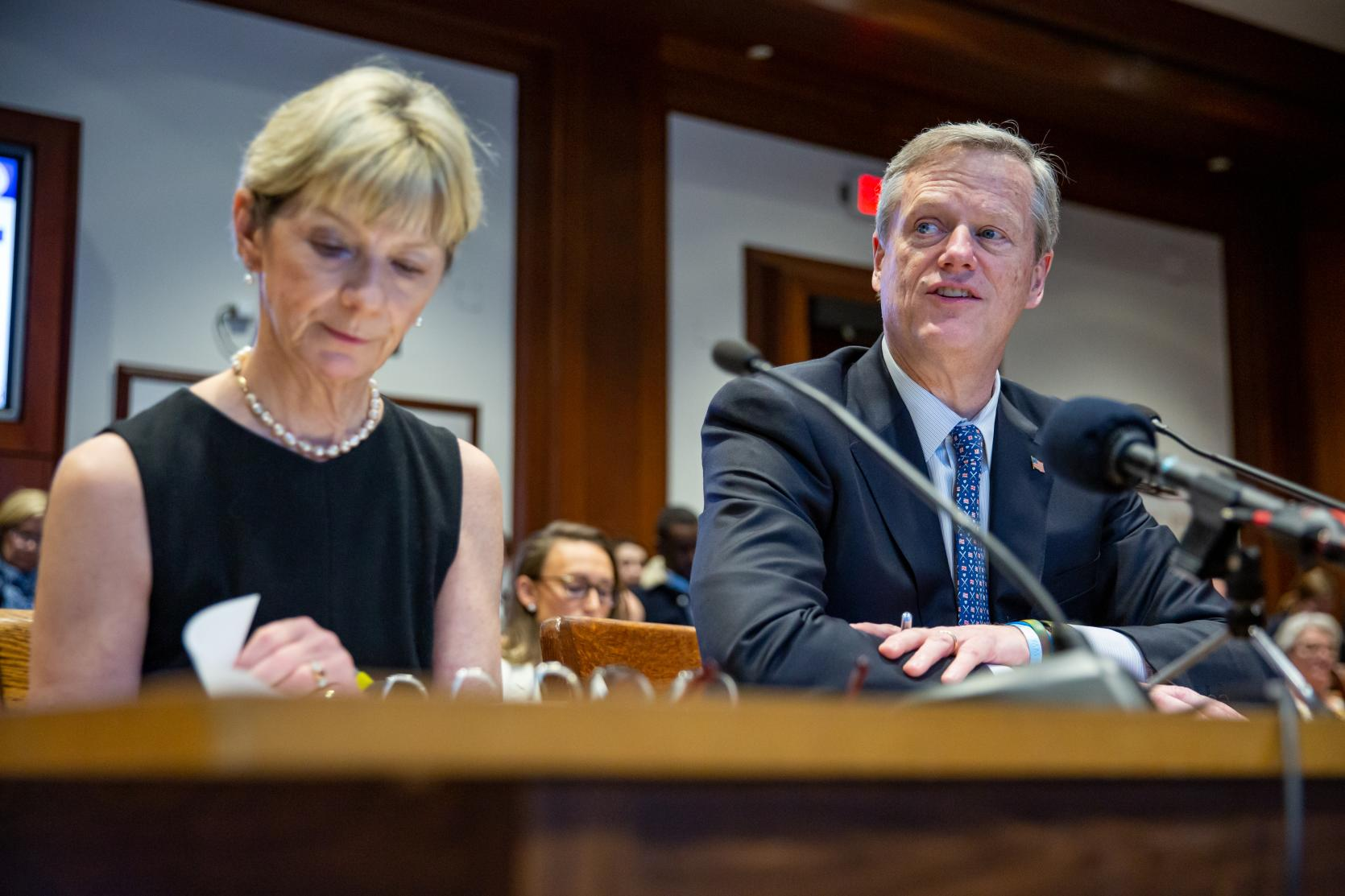 Governor Baker, Secretary Sudders Testify in Support of Administration's Comprehensive Health Care Legislation