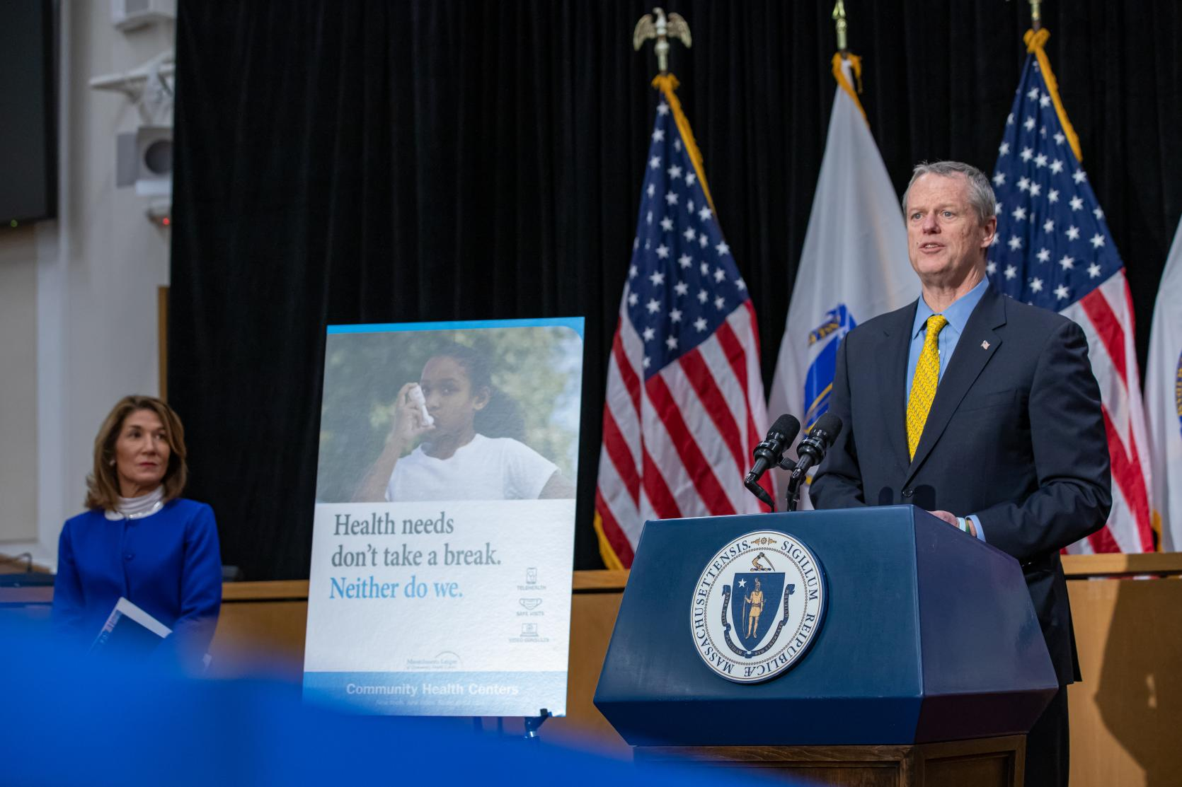 Baker-Polito Administration, Mass League of Community Health Centers to Launch Public Awareness Campaign
