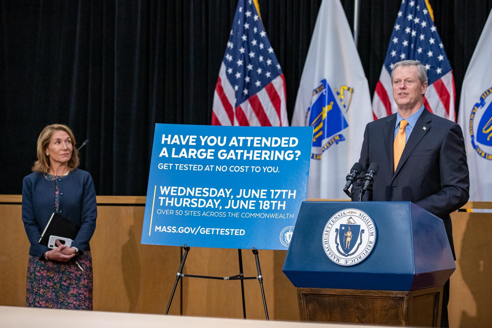 Baker-Polito Administration Announces Pop-Up Testing Sites for Participants of Large Gatherings
