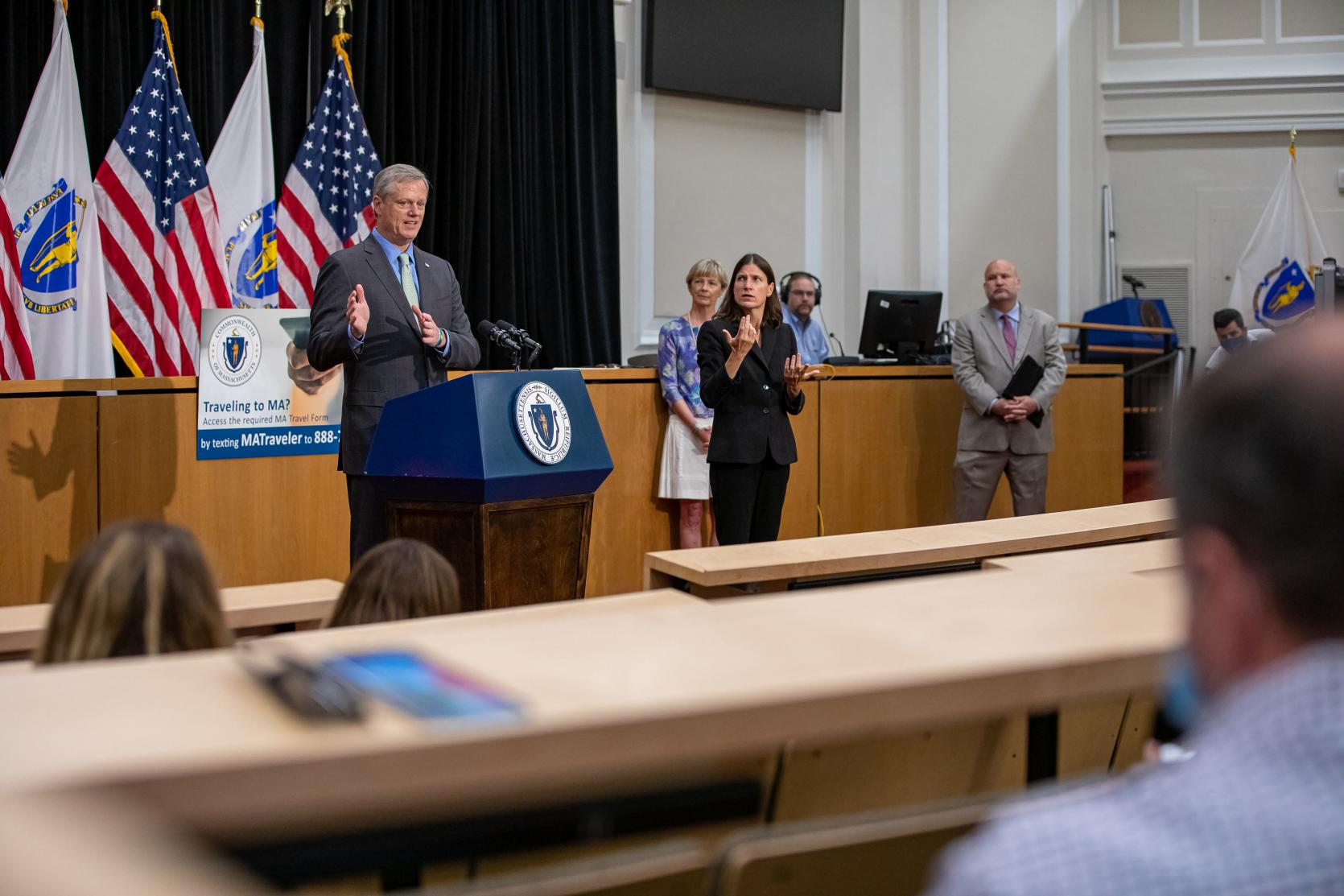Baker-Polito Administration Announces Testing Initiatives to Support K-12 Schools