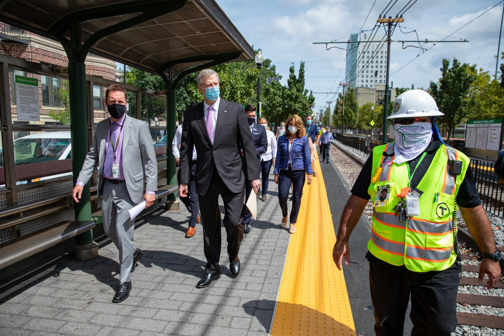 Building a Better T: Baker-Polito Administration, Transportation Officials Celebrate Successful Completion of Accelerated Green Line C and E Branch Work