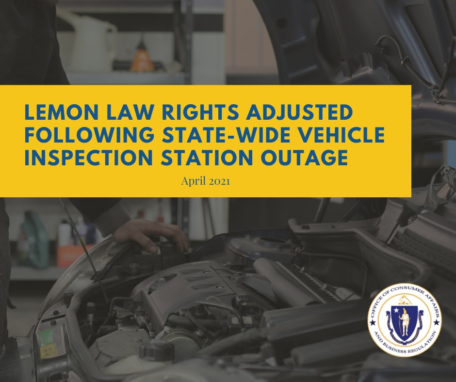 Lemon Law Rights Adjusted Following State-Wide Vehicle Inspection Station Outage