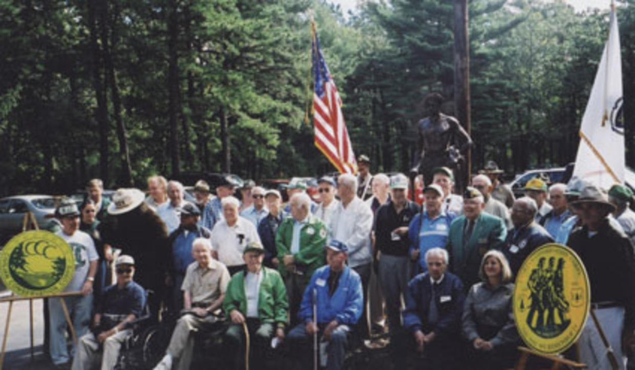 Freetown CCC monument dedication 2002