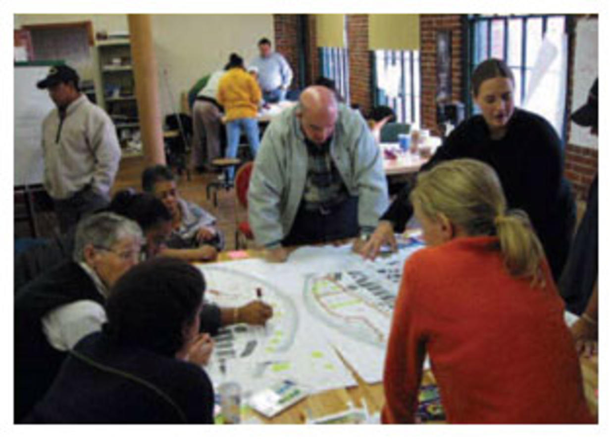 Community design charrette - Groundwork Lawrence, Lawrence, MA