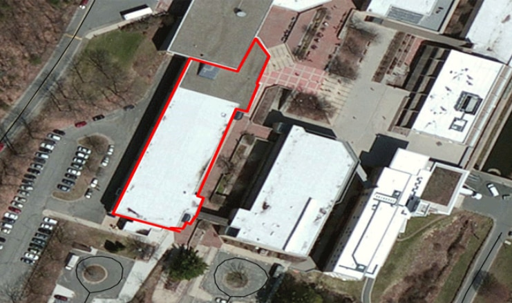 aerial view of holyoke community college property for sale/lease