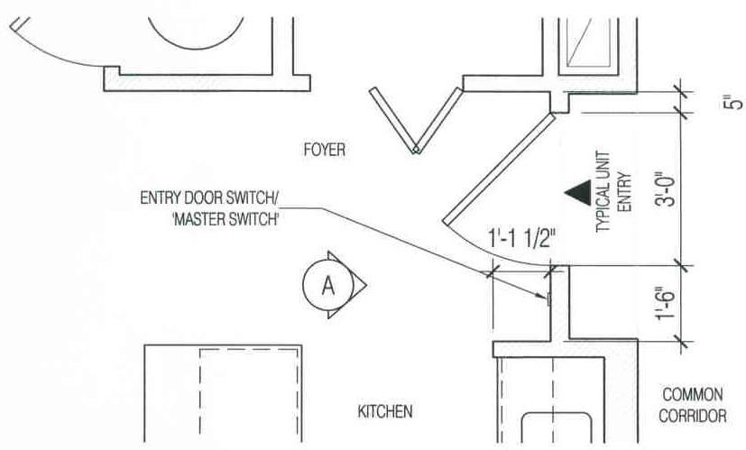 diagram 1: example entryway
