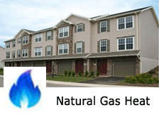 Gas Heated Townhome