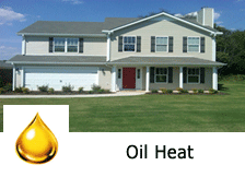 oil heat townhome