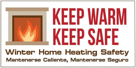 Keep Warm, Keep Safe logo