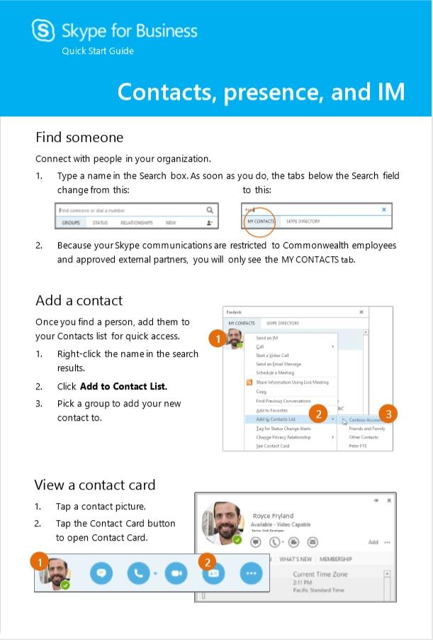 Skype for Business | Mass gov