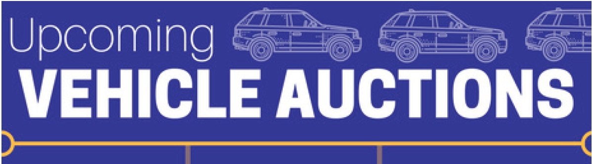State Surplus Property Office Vehicle Auction Logo