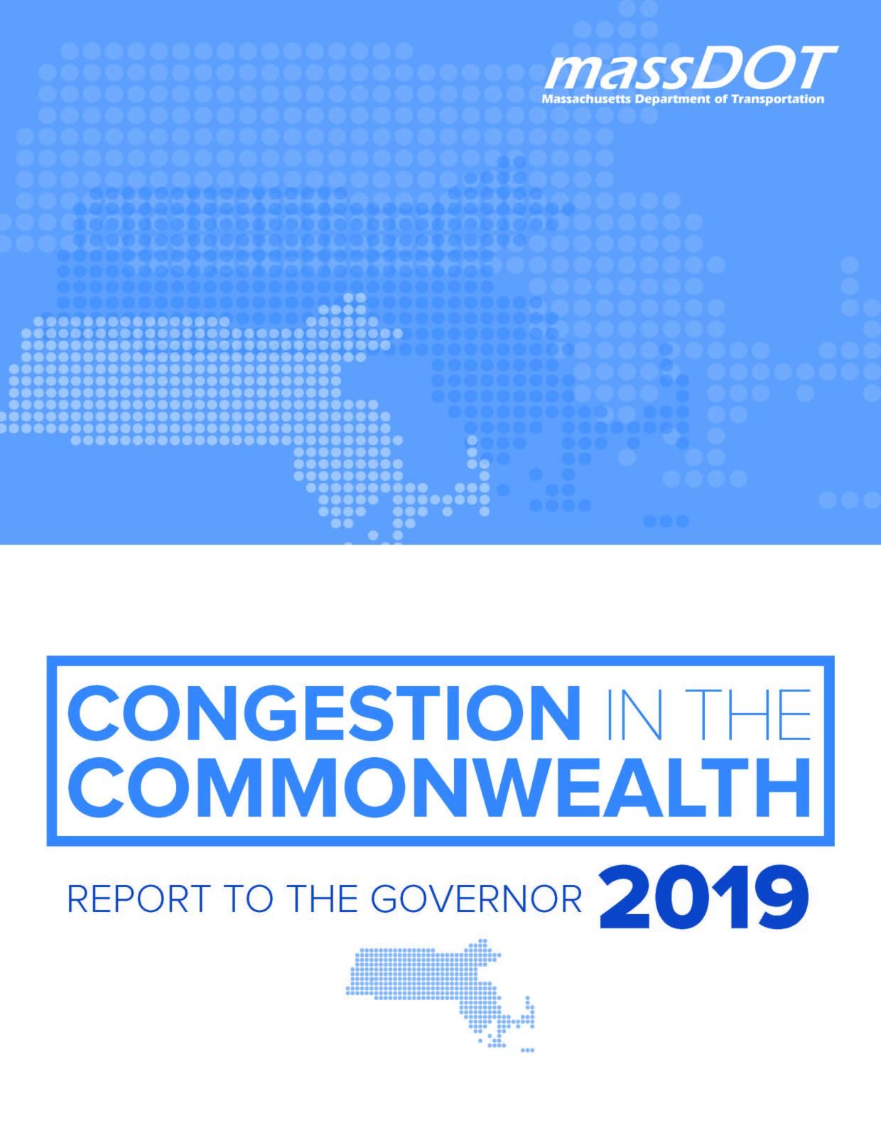 Congestion Report Cover page image