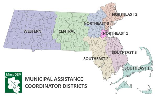Image: Map of MAC Districts