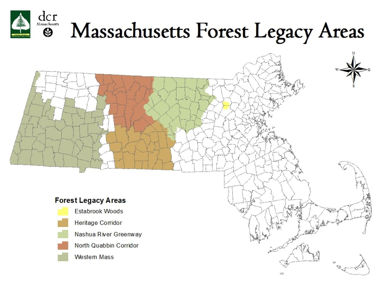 Current Forest Legacy Areas