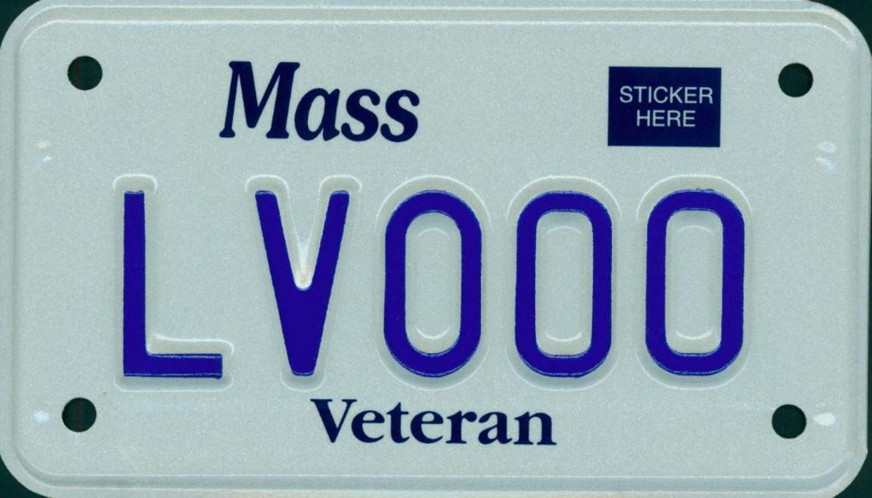 legion of valor motorcycle plate