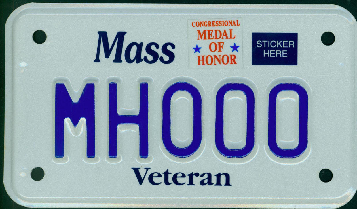 congressional medal of honor motorcycle plate