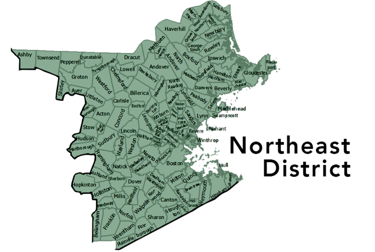 MassWildlife's Northeast District