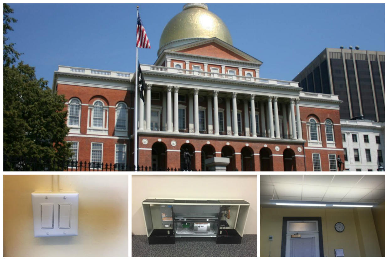 state house energy collage