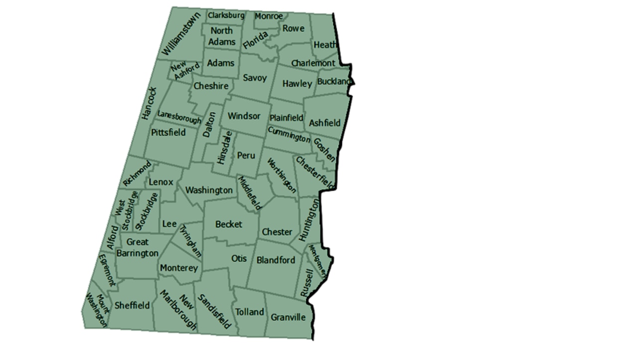 map of MassWildlife western district