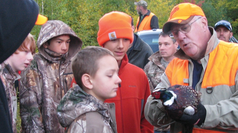 Young Adult Pheasant Hunt