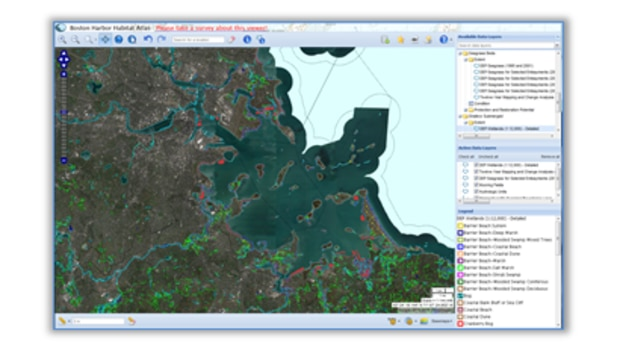 Boston Harbor Habitat Atlas
