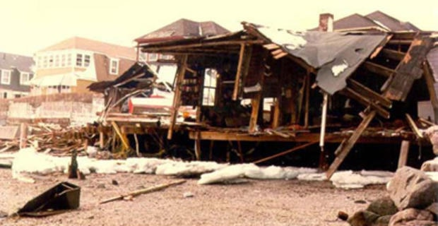 Billzard of '78 image of destroyed house