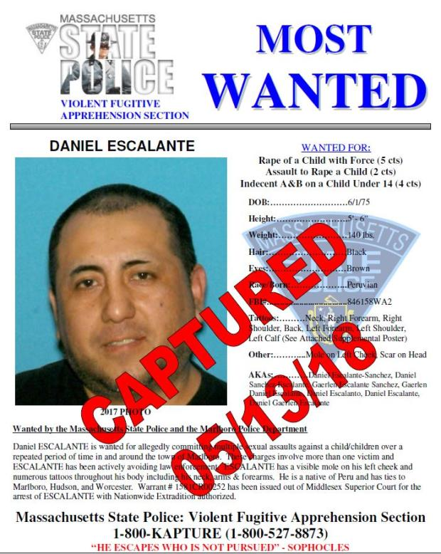 State Police's Most Wanted | Mass gov