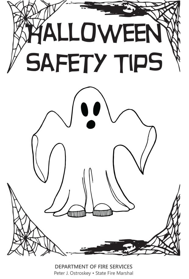 Cover of Halloween Safety Flyer
