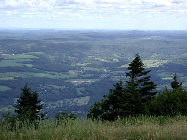 view from mount greylock summit