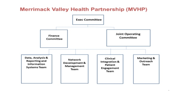 NHP, LGH and GLFHC have spent nearly a year developing an integrated organizational foundation for the ACO partnership plan contracted with EOHHS. Below is a high level organizational chart