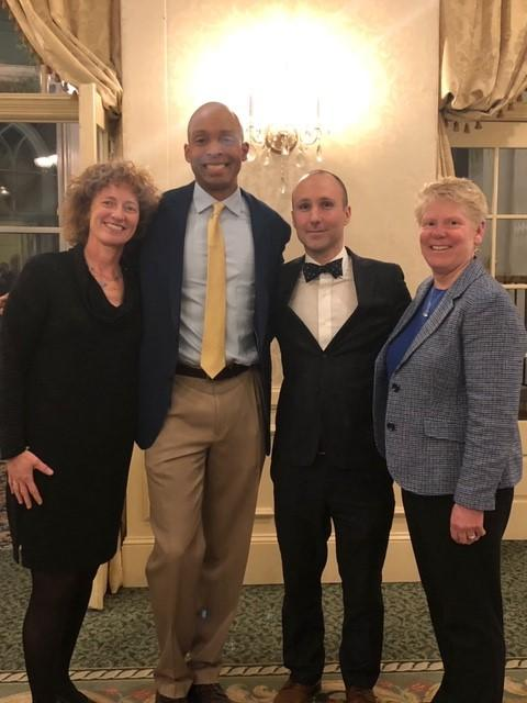 Northampton District Court Presiding Justice Maureen Walsh, Probation Officer John Thorpe, Hampshire County Bar Association President Jesse Adams & Northampton Chief Probation Officer Jane Pendergast.